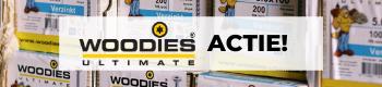 Gratis Woodies Ultimate schroeven bij online bestellingen vanaf € 300,-
