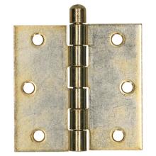 Gerolde knopscharnier * 76,2x76,2 Zngeel